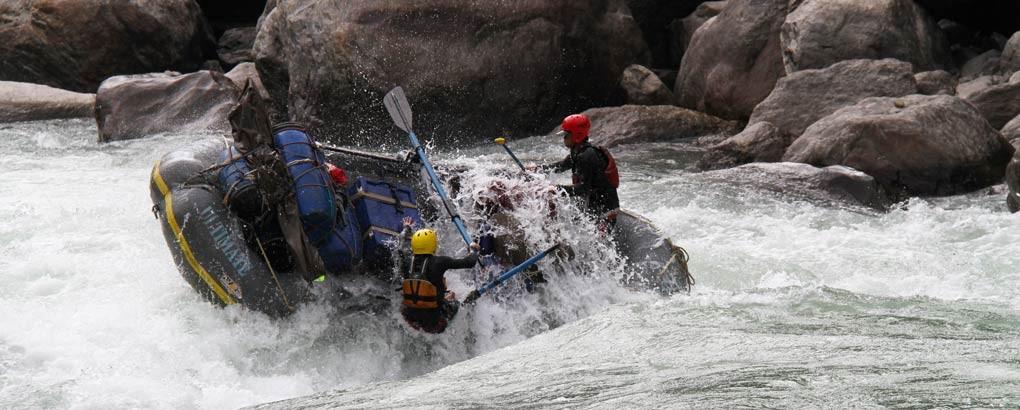 tamur river rafting nepal