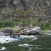 Siberia Russia whitewater rafting